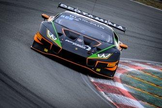 #519 Orange 1 FFF Racing Team Lamborghini Huracan GT3 Evo: Hiroshi Hamaguchi, Phil Keen