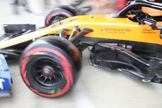 McLaren MCL34 sidepods detail