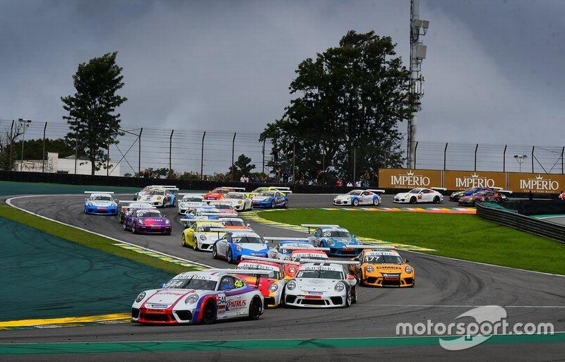 Largada Porsche em Interlagos