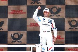 Podium: Race winner Bruno Spengler, BMW Team RMG