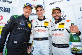 #16 Black Falcon Mercedes-AMG GT3: Hubert Haupt, Adam Christodoulou, Luca Stolz