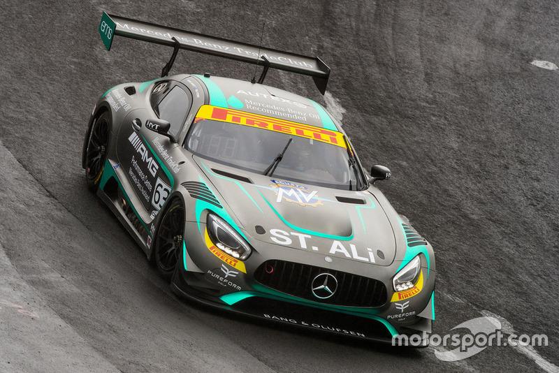 #63 Eggleston Motorsport Mercedes-AMG GT3: Peter Hackett, Dominic Storey