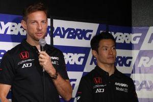 ジェンソン・バトン、山本尚貴(#1 RAYBRIG NSX-GT)