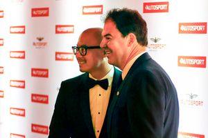 Edmund Chu, SECA General Manager (L) and James Allen, Motorsport Network (R)