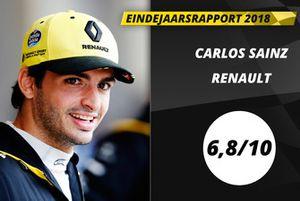 Eindrapport 2018: Carlos Sainz, Renault