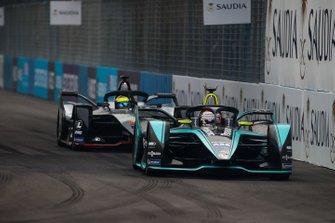 Nelson Piquet Jr., Panasonic Jaguar Racing, Jaguar I-Type 3 Oliver Rowland, Nissan e.Dams, Nissan IMO1
