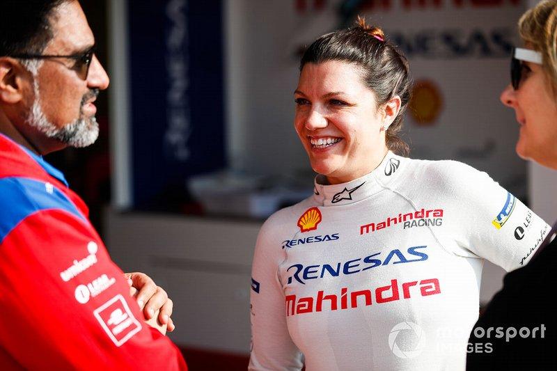 Katherine Legge, Mahindra Racing