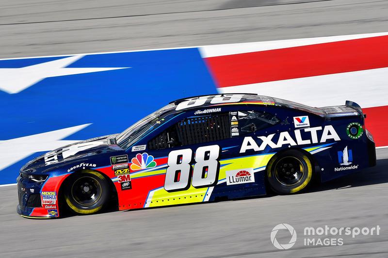 18. Alex Bowman, Hendrick Motorsports, Chevrolet Camaro Axalta