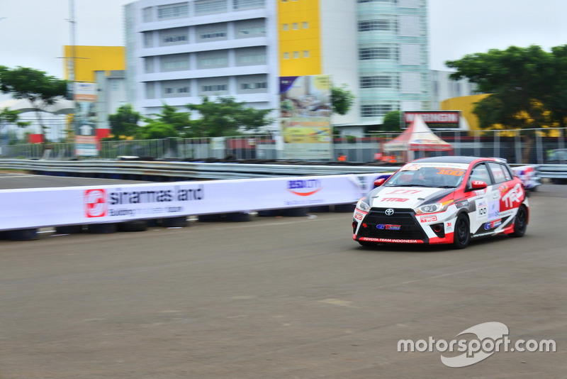 Demas Agil, Toyota Team Indonesia, ITCC 1600 Max