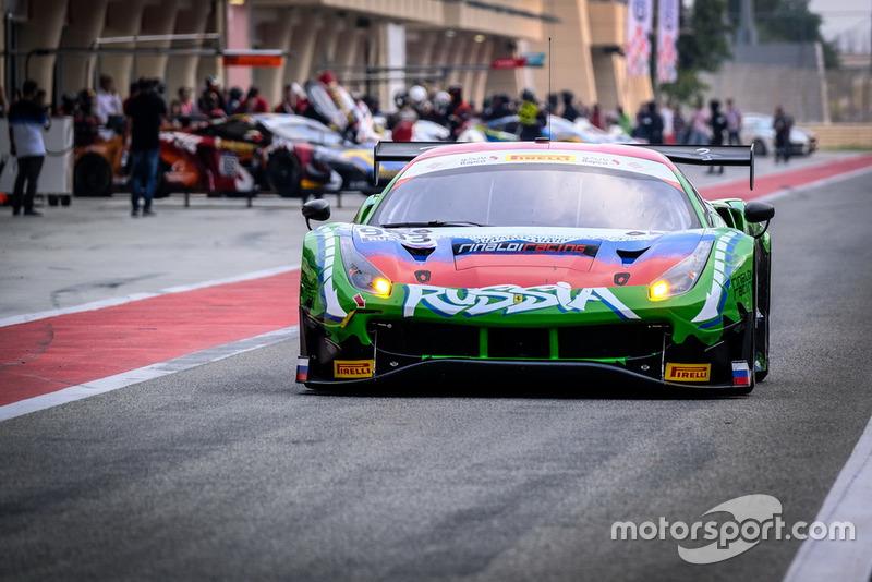 Ferrari 488 GT3 №993, Россия, Rinaldi Racing: Ринат Салихов, Денис Булатов