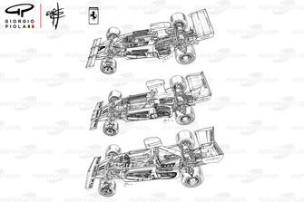 Эволюция Ferrari 312B3
