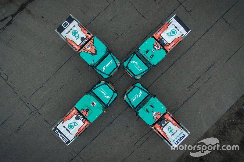 Todos los camiones del Equipo De Rooy