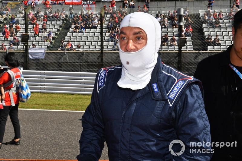 Jean Alesi, acara demonstrasi lap Perayaan Legenda F1 ke-30