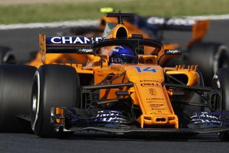 Фернандо Алонсо и Стоффель Вандорн, McLaren MCL33