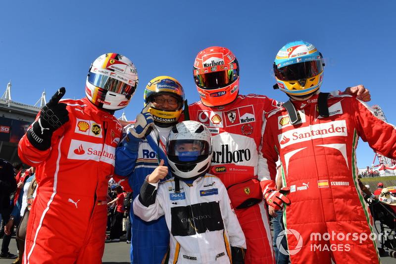 Ferrari and McLaren fans