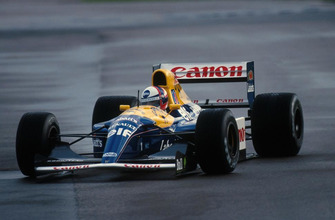 Gil de Ferran tests the Williams FW14