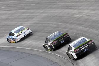 Ryan Blaney, Team Penske, Ford Fusion PPG, Kurt Busch, Stewart-Haas Racing, Ford Fusion Monster Energy / Haas Automation, Aric Almirola, Stewart-Haas Racing, Ford Fusion Smithfield