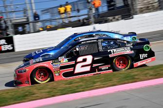 Brad Keselowski, Team Penske, Ford Fusion Thomas Built Buses