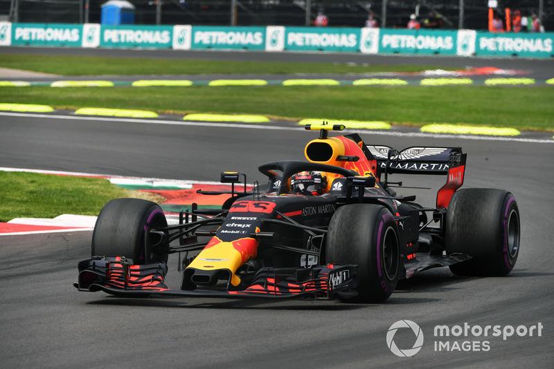2018 - Max Verstappen vence no México