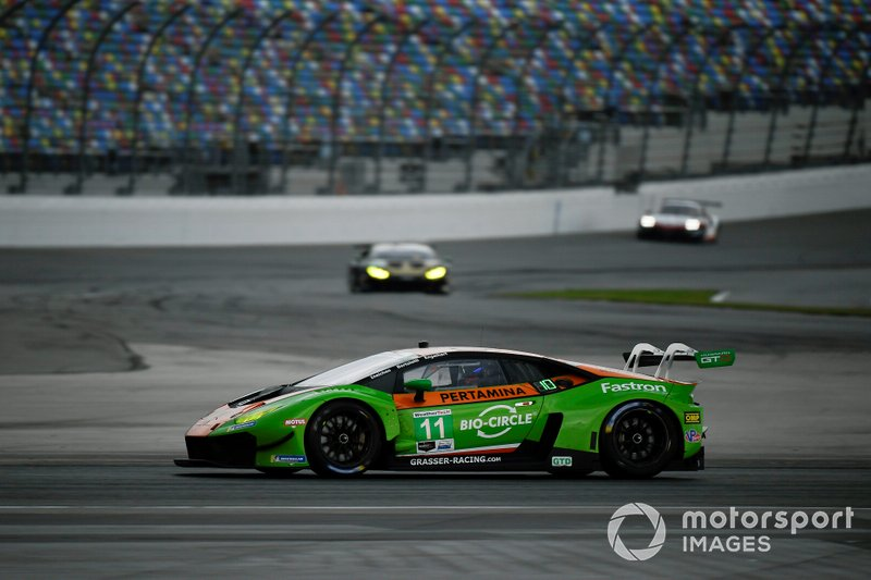 Мирко Бортолотти, Кристиан Энгельхарт, Кан Лин, GRT Grasser Racing Team, Lamborghini Huracan GT3 (№11)