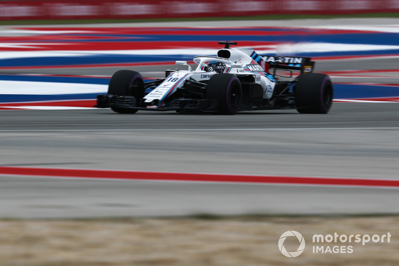15º Lance Stroll, Williams FW41