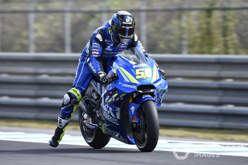 Sylvain Guintoli, Team Suzuki MotoGP (1 kecelakaan)