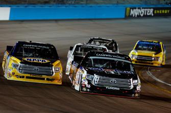 Christian Eckes, Kyle Busch Motorsports, Toyota Tundra Mobil 1 and Derek Kraus, Bill McAnally Racing, Toyota Tundra NAPA Auto Parts