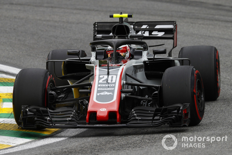 10: Kevin Magnussen, Haas F1 Team VF-18, 1'08.659