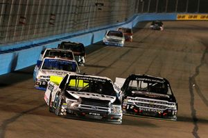 Myatt Snider, ThorSport Racing, Ford F-150 Tenda and Sheldon Creed, GMS Racing, Chevrolet Silverado United Rentals/AM Ortega