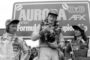 Победитель Дэвид Кеннеди, Wolf, второе место – Гай Эдвардс, Fittipaldi, третье место – Дезире Уилсон, Tyrrell