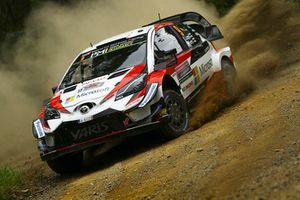 Эсапекка Лаппи и Янне Ферм, Toyota Yaris WRC, Toyota Gazoo Racing WRC