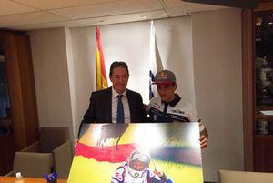 Jorge Martín ofrece título Moto3, Manuel Casado, presidente Federación Motociclismo