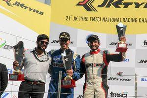 First placed Rohit Khanna, Dark Don and third placed Sandeep Kumar, Dark Don