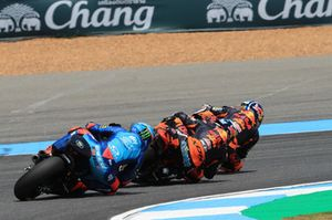 Brad Binder, Red Bull KTM Ajo Miguel Oliveira, Red Bull KTM Ajo Francesco Bagnaia, Sky Racing Team VR46