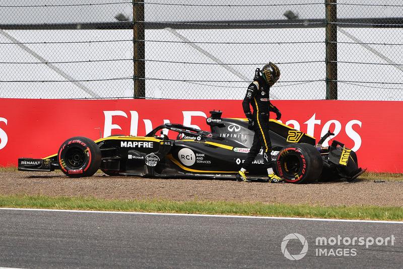 Аварія Ніко Хюлькенберга, Renault Sport F1 Team R.S. 18