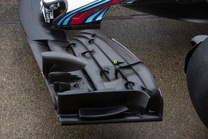 Williams FW41 front wing detail