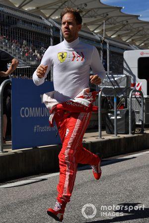 Sebastian Vettel, Ferrari corre