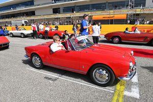Marcus Ericsson, Sauber tijdens de rijdersparade