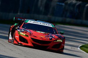 #93 Michael Shank Racing con Curb-Agajanian Acura NSX, GTD - Lawson Aschenbach, Justin Marks