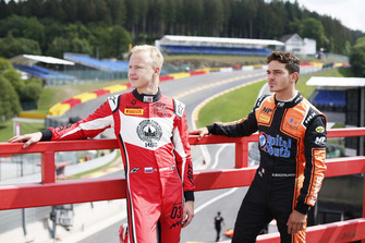 Nikita Mazepin, ART Grand Prix and Dorian Boccolacci, MP Motorsport