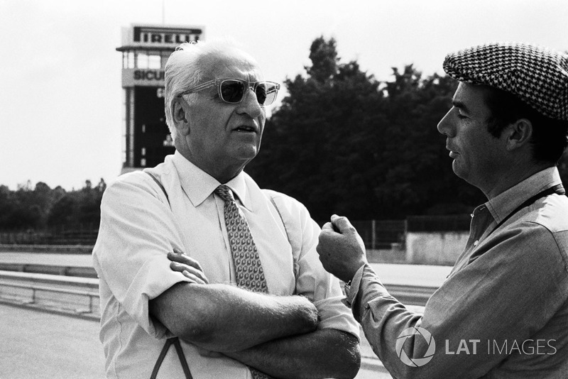 Enzo Ferrari e Bernard Cahier
