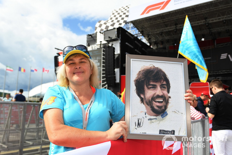 Fan de Fernando Alonso, McLaren