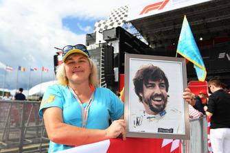 Fernando Alonso, McLaren fan