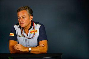 Mario Isola, Racing Manager, Pirelli Motorsport, in conferenza stampa
