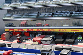 Casse in pit lane