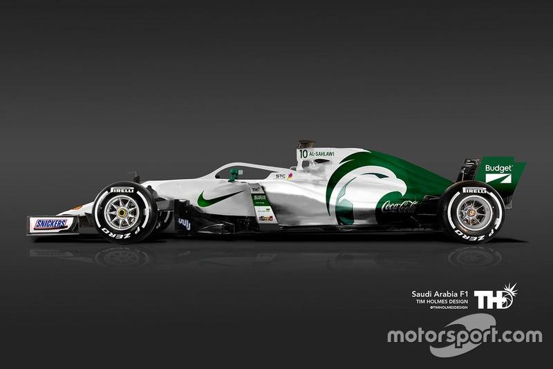F1 Team Arabia Saudí