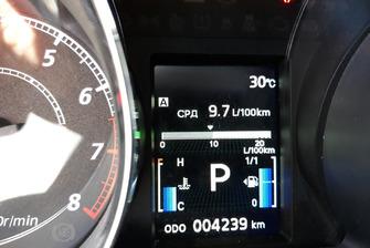 Споживання пального - 9,7