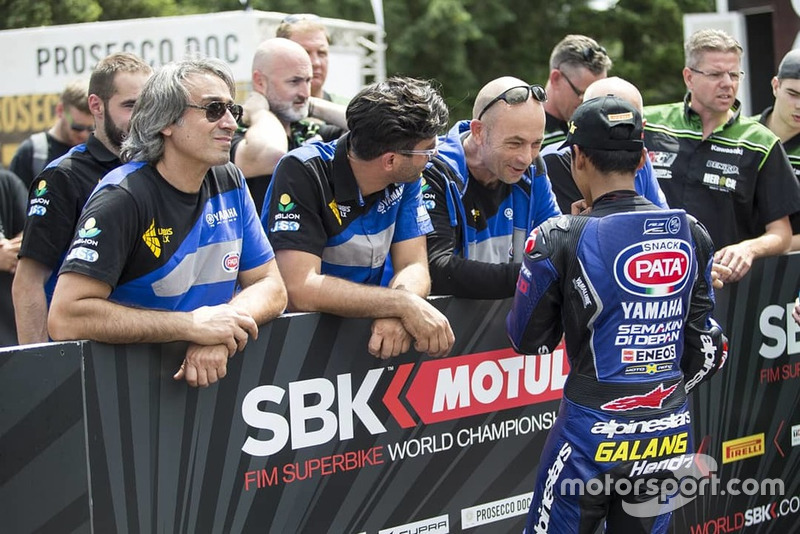 Pole position Galang Hendra, Yamaha MotoX Racing