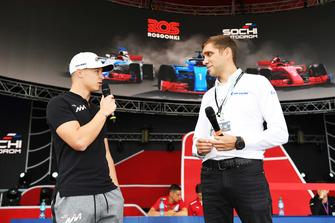 Nikita Mazepin, ART Grand Prix with Vitaly Petrov.
