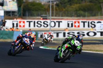 Toprak Razgatlioglu, Kawasaki Puccetti Racing, Michael van der Mark, Pata Yamaha